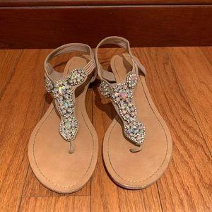 Madden Girl Rhinestone Sandal